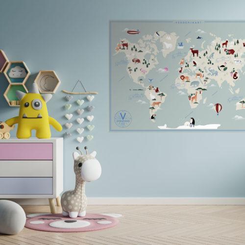 Vidunderpost kart